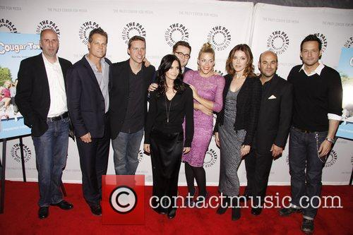 Bob Clendenin, Brian Van Holt, Busy Philipps, Christa Miller, Courteney Cox, Dan Byrd, Ian Gomez, Josh Hopkins and Paley Center For Media 1