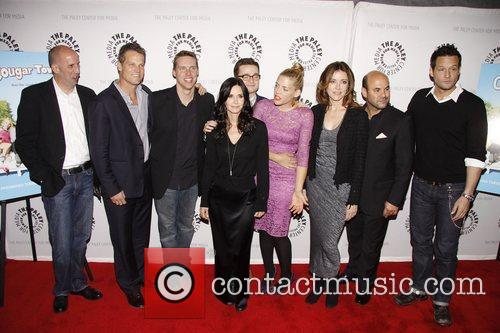 Bob Clendenin, Brian Van Holt, Busy Philipps, Christa Miller, Courteney Cox, Dan Byrd, Ian Gomez, Josh Hopkins and Paley Center For Media 2