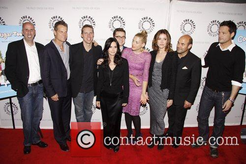 Bob Clendenin, Brian Van Holt, Busy Philipps, Christa Miller, Courteney Cox, Dan Byrd, Ian Gomez, Josh Hopkins and Paley Center For Media 3