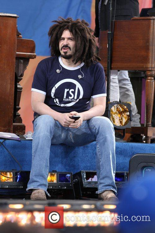 Adam Duritz of Counting Crows GMA presents the...