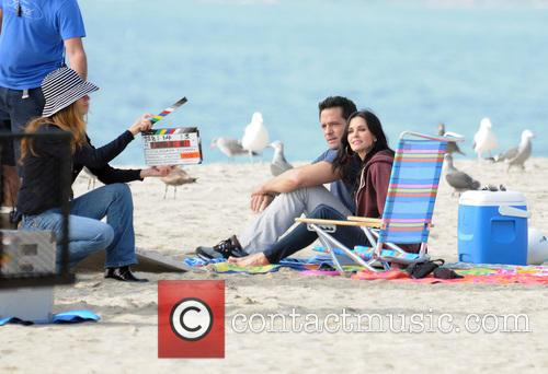 Courteney Cox, Brian Van Holt, Cougar Town and Venice Beach 4