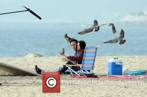 Courteney Cox, Brian Van Holt, Cougar Town and Venice Beach 3
