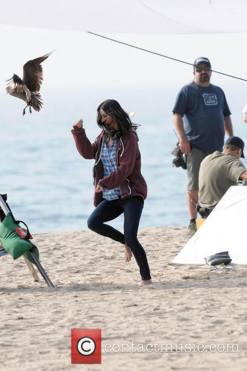Courteney Cox, Brian Van Holt, Cougar Town and Venice Beach 12