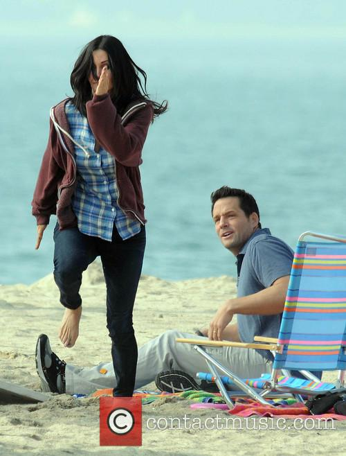 Courteney Cox, Brian Van Holt, Cougar Town and Venice Beach 9