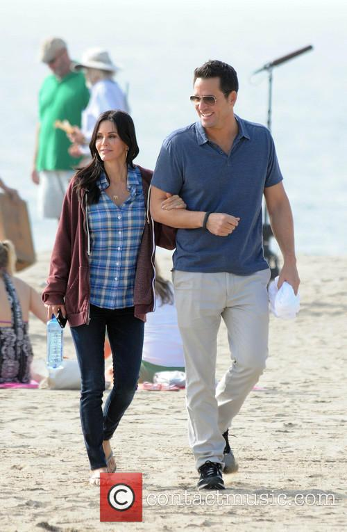Courteney Cox, Brian Van Holt, Cougar Town and Venice Beach 8