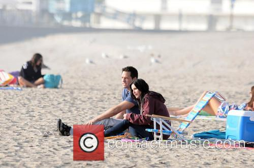Courteney Cox, Brian Van Holt, Cougar Town and Venice Beach 5