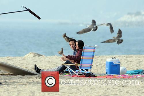 Courteney Cox, Josh Hopkins, Cougar Town and Venice Beach 3