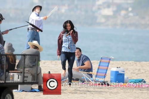 Courteney Cox, Josh Hopkins, Cougar Town and Venice Beach 3