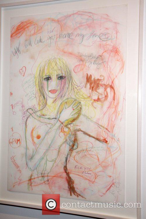 Art Work - Portrait of Gwyneth Paltrow and...