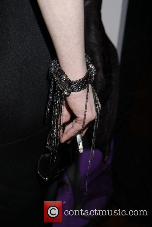 Courtney Love hold cigarette  Courtney Love unveils...