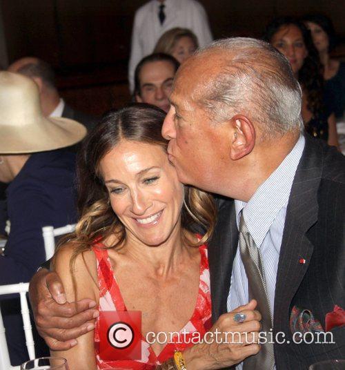 Sarah Jessica Parker and Oscar De La Renta 2