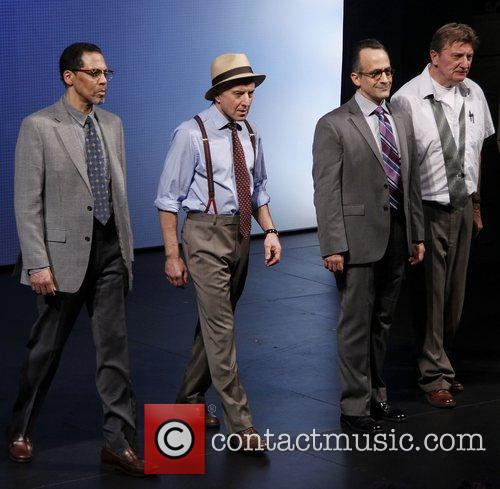 Jay Hernandez, Arliss Howard, David Pittu and Larry Bryggman 2