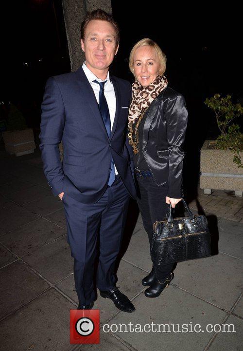 Martin Kemp, wife Shirlie Kemp  outside the...
