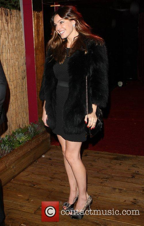 Kelly Brook  Celebrities seen departing the Crazy...
