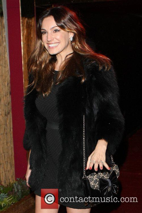 Celebrities seen departing the Crazy Horse Cabaret club