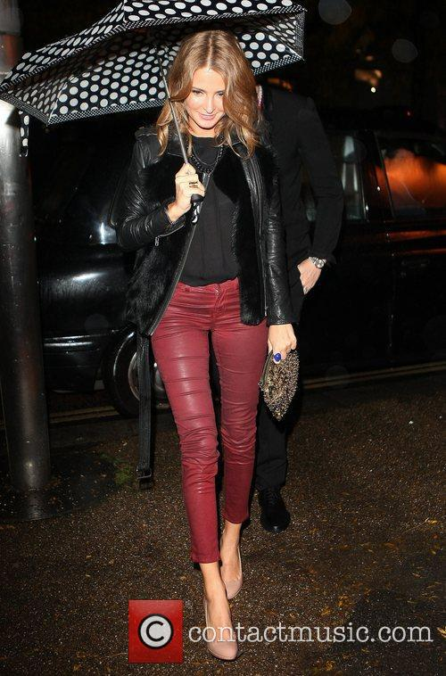 Millie Mackintosh  Celebrities seen departing the Crazy...