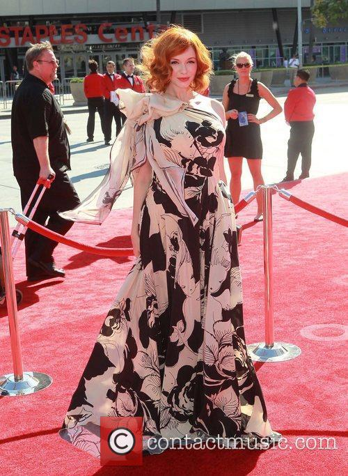 Christina Hendricks 2012 Creative Arts Emmy Awards, held...