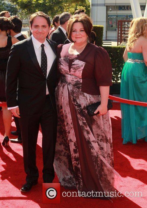 Ben Falcone, Melissa McCarthy 2012 Creative Arts Emmy...