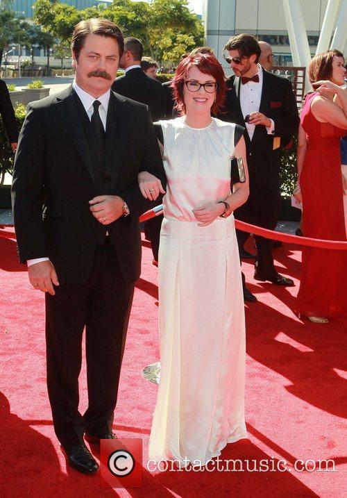 Nick Offerman and Megan Mullally 1