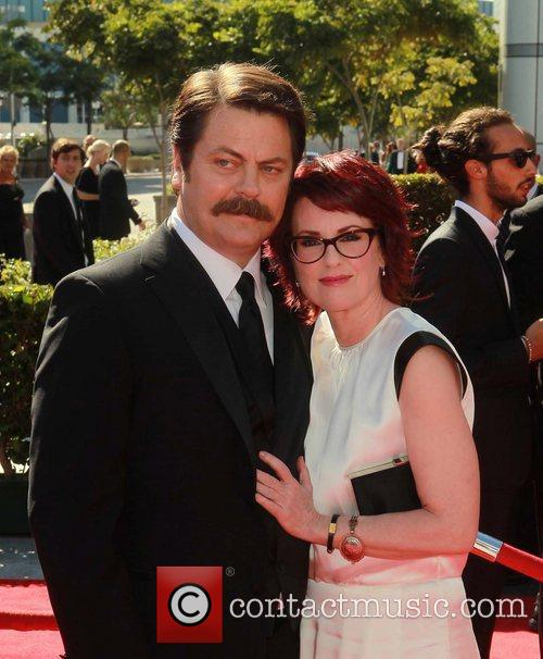 Nick Offerman and Megan Mullally 3