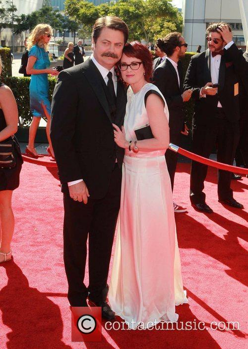 Nick Offerman and Megan Mullally 4