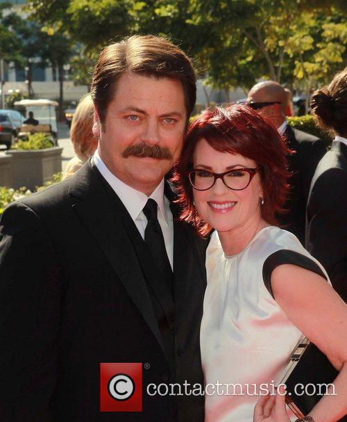 Nick Offerman and Megan Mullally 5