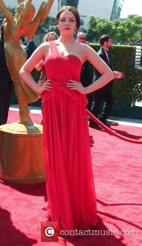 Elizabeth Gillies 2012 Creative Arts Emmy Awards held...