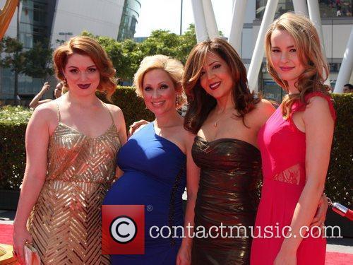 Jennifer Stone, Leigh-Allyn Baker, Maria Canals-Barrera and Bridget...