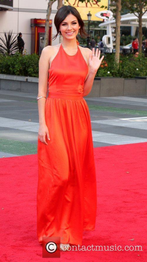 Victoria Justice 2012 Creative Arts Emmy Awards held...