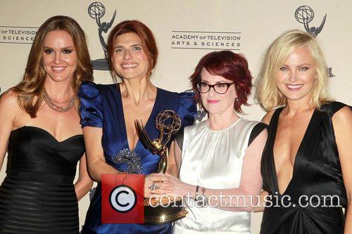 Lake Bell, Malin Akerman and Megan Mullally 2