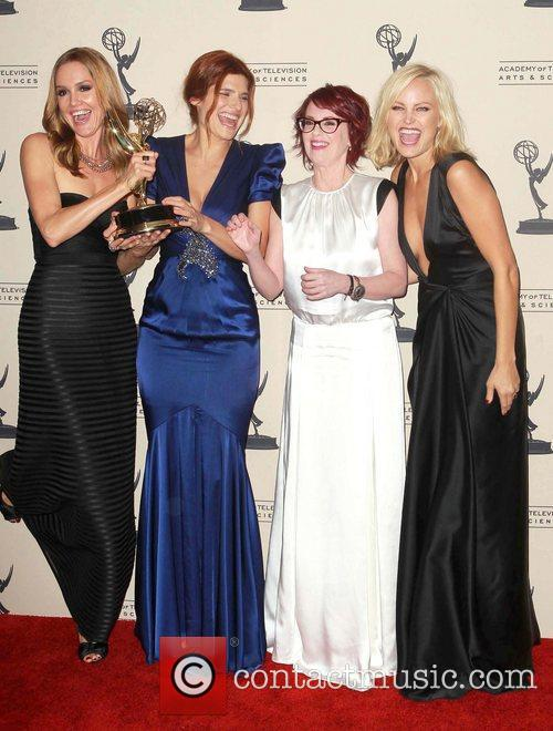 Lake Bell, Malin Akerman, Megan Mullally