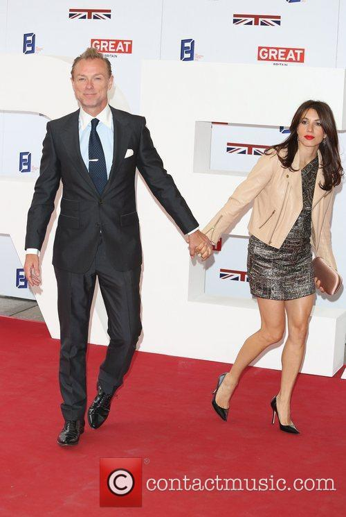 Gary Kemp and wife Lauren Barber The UK's...