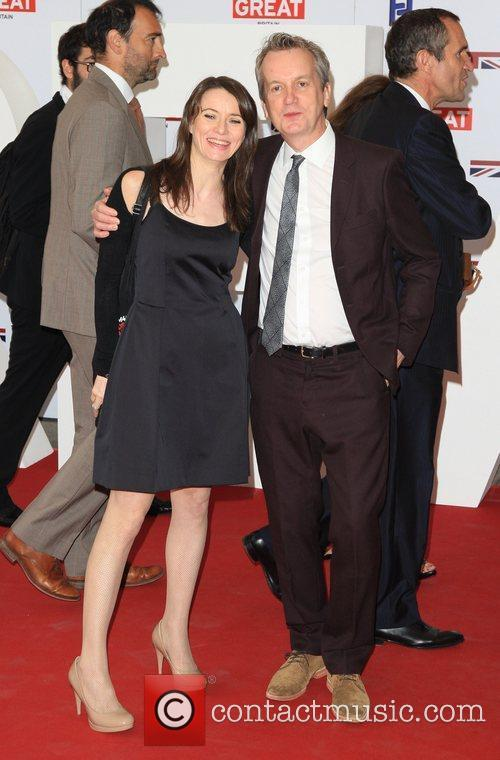 Frank Skinner and girlfriend Cath Mason The UK's...
