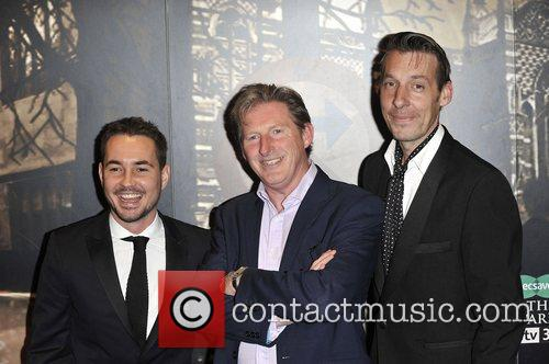 Martin Compston, Adrian Dunbar and Craig Parkinson