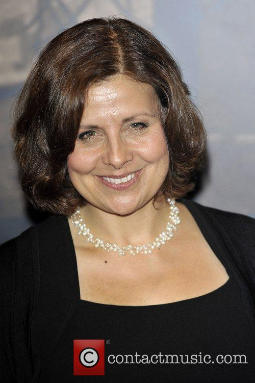 Rebecca Front,  at the Specsavers Crime thriller...