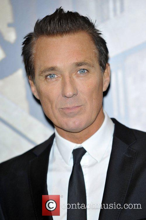 Martin Kemp,  at the Specsavers Crime thriller...