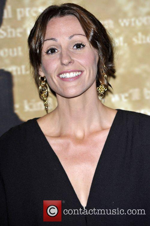Suranne Jones,  at the Specsavers Crime thriller...