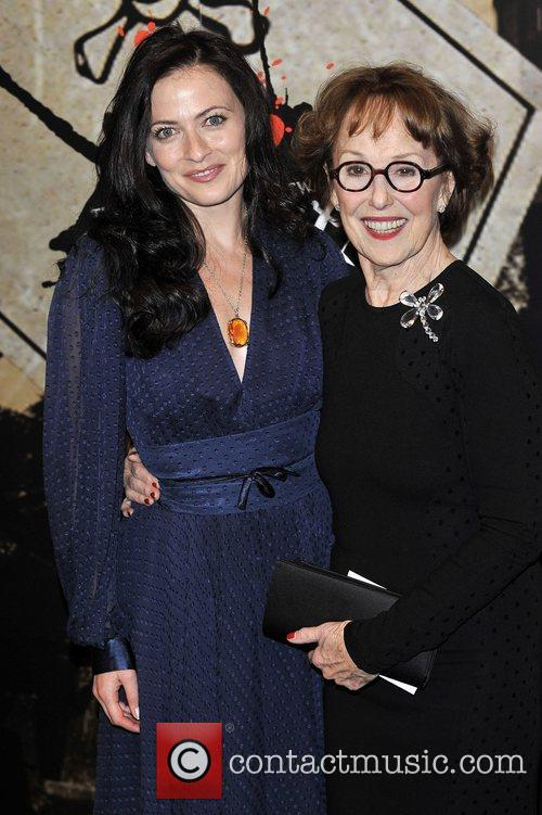 Una Stubbs, Lara Pulver,  at the Specsavers...