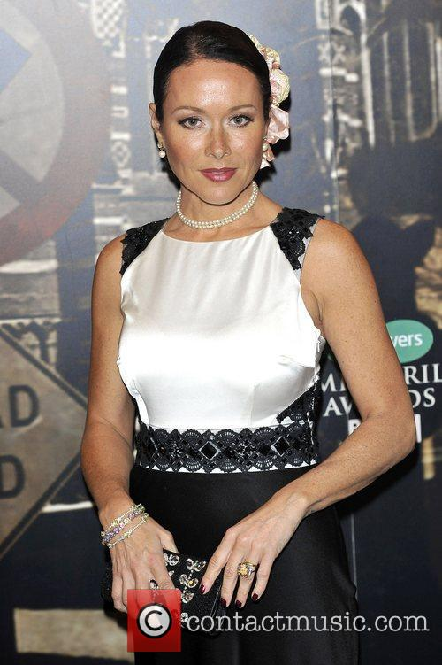 Amanda Mealing,  at the Specsavers Crime thriller...