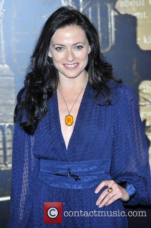 Lara Pulver,  at the Specsavers Crime thriller...