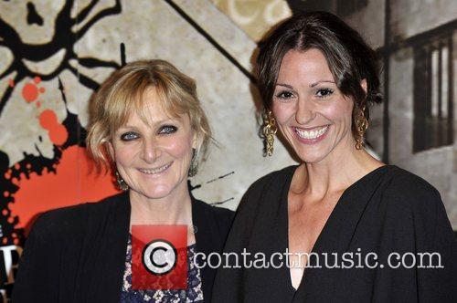 Lesley Sharp and Suranne Jones,  at the...