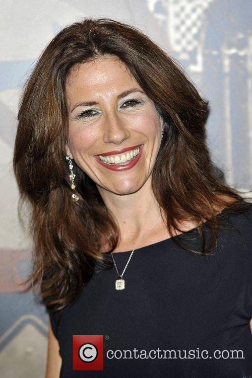 Gaynor Faye,  at the Specsavers Crime thriller...