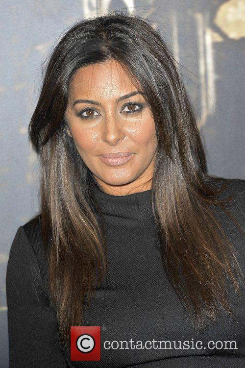 Laila Rouass,  at the Specsavers Crime thriller...