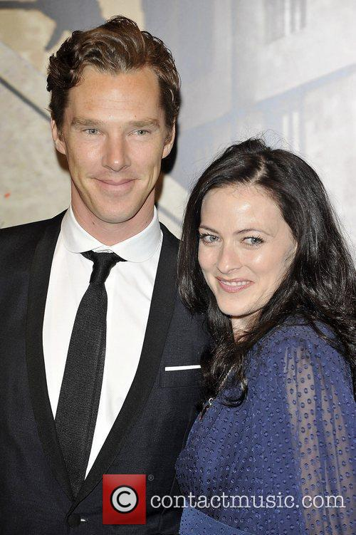 Lara Pulver and Benedict Cumberbatch,  at the...