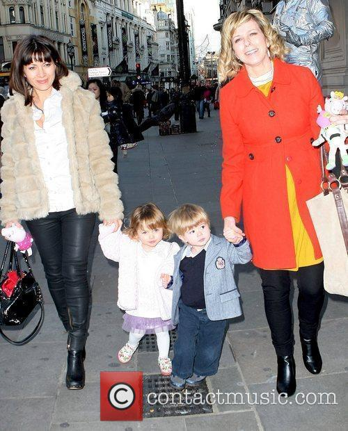 Clare Nasir and Kate Garraway  attending the...