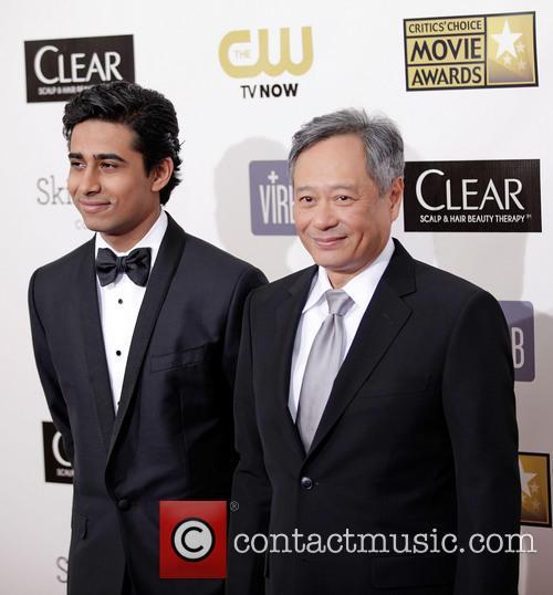 Suraj Sharma and Ang Lee 5