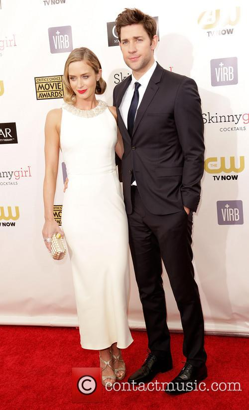 Emily Blunt and John Krasinski 8