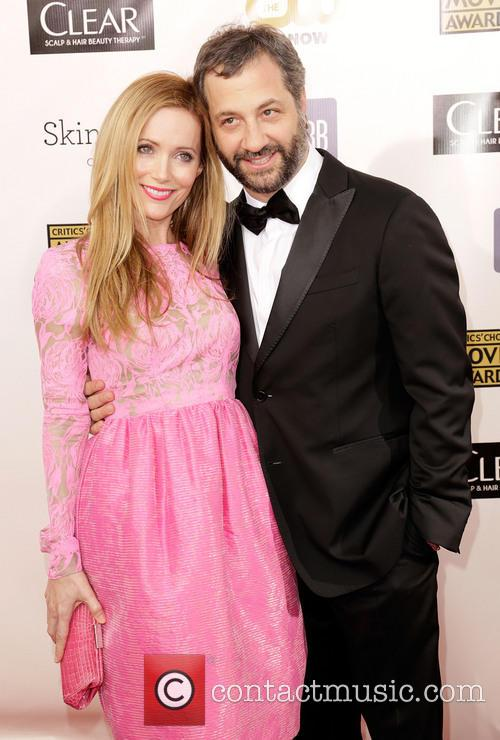 Leslie Mann and Judd Apatow 2