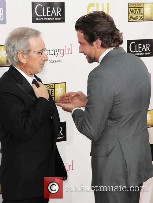 Bradley Cooper and Stephen Spielberg 5
