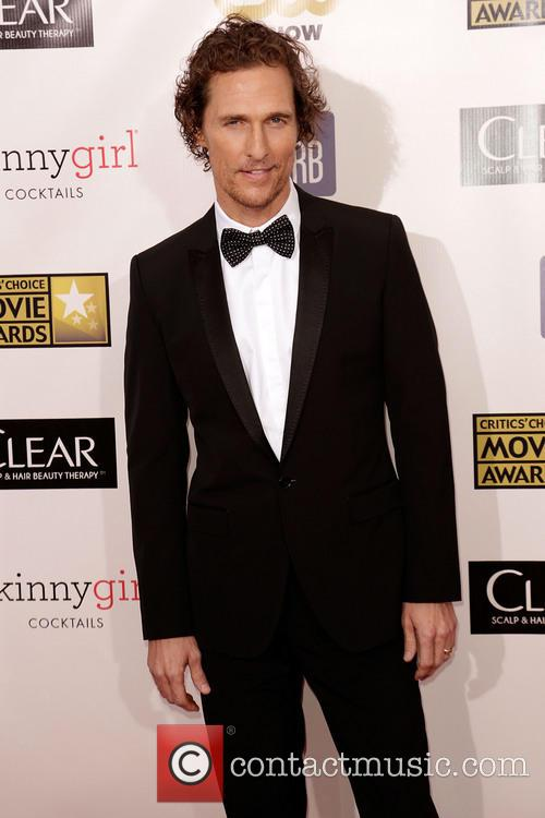 Matthew McConaughey at the Critic's Choice Awards